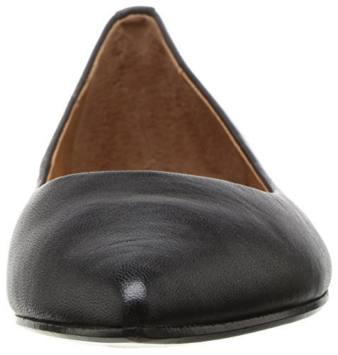 Full Soft Ballet Women's Flat FRYE M US Sienna 5 5 Polished Black Grain a0YSq