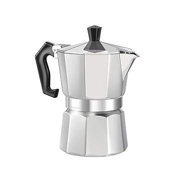 Sunnyday De Aluminio de 8 Ángulo Moka Pot Espresso Fogón ...