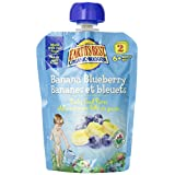 Earth's Best Baby Food Puree, Banana Blueberry, 12-Count