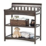 Child Craft Coventry Infant Changing Table with Pad, Slate