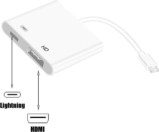 Creative-Idea Cable 8 Pin adaptador Lightning a HDMI Digital AV TV ...