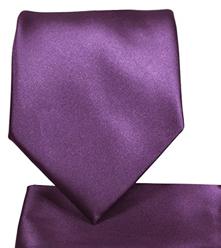 Squares Tie (Skinny Necktie Hanky Set- 2.25