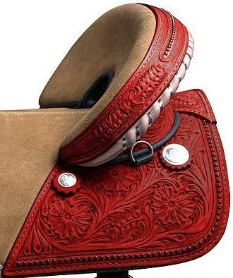 Deen Youth Child Western Trail Barrel Racing Premium Leather TREELESS Pony Miniature Horse Saddle Tack Size 10 to 12 inch Seat Available Enterprises