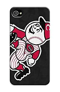 iphone 5 5s Protective Case,Fashion Popular Cincinnati Reds Designed iphone 5 5s Hard Case/Mlb Hard Case Cover Skin for iphone 5 5s