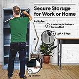 Fedmax Metal Garage Storage Cabinet - 71-inch