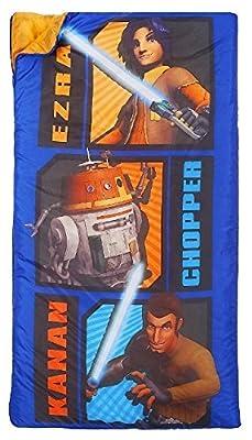 Star Wars Rebels Slumber Bag, Bonus Backpack with Straps, Chopper, Kanan, Ezra