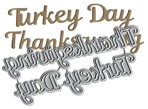 - Dies to die for Metal Craft Cutting die - Thanksgiving Turkey Day Words