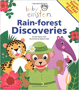Image of: Amazon Rainforest Follow The Author Amazoncom Baby Einstein Rainforest Discoveries Julie Aignerclark Nadeem