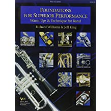 W32CLB - Foundations for Superior Performance: Warm-ups and Technique for Band : Bass Clarinet