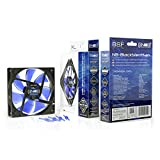 Noiseblocker NB-BlackSilentFan XL-1 120mm x 25mm Ultra Quiet Fan, 1000 RPM, 13dBA