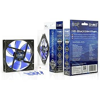 Noiseblocker NB-BlackSilentFan XL-1 120mm x 25mm Ultra Quiet Fan, 1000 RPM, 13dBA