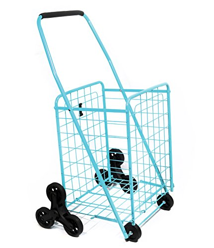 Helping Hand Shopping Cart Stair Climber, Teal by HSN