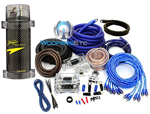 car audio power wire stinger top 10 searching results pkg stinger 5 farad digital power capacitor and power pro 0 4 gauge 8500w 3