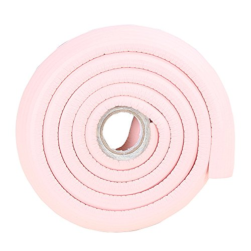 2M/6.5ft Non-Toxic Bumper Corners for Baby Wall Edge Protector Child Proof Cushion for Door Handle Pink - Pink Wall Cushion