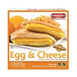 Sandwich Brothers Egg and Cheese Breakfast Sandwich, 10 Ounce -- 6 per case.