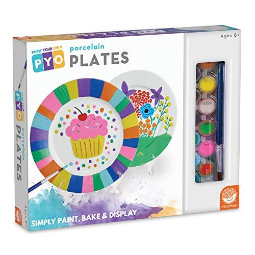 MindWare's Paint Your Own Porcelain: (Plates)]()