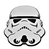 Stormtrooper Pilot Helmet Chrome Auto Emblem - 3' x 3.25'