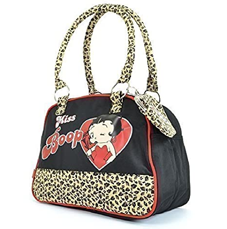 Betty Boop radio days Leopardo Bolso y monedero cartera ...