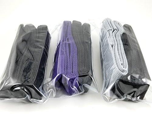 Ilan Fit Pure cotton Yoga Mat Straps, carrying slings, (Black & Black)