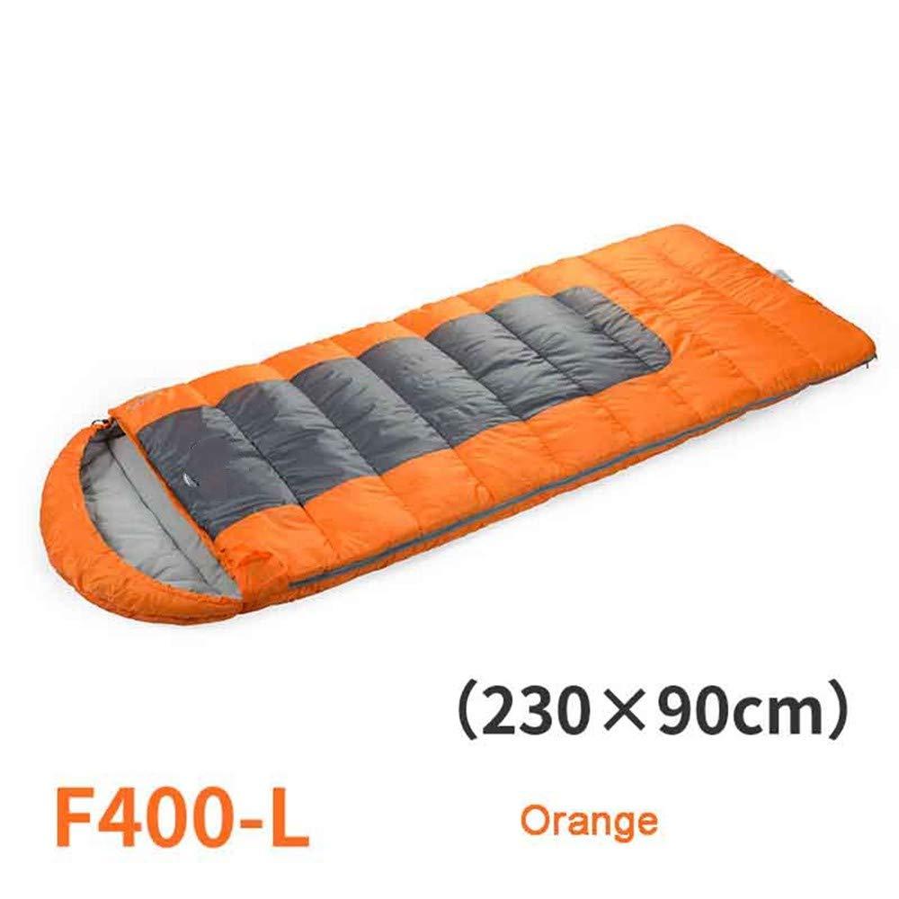 JSJDFPDC Outdoor Camping Hooded Umschlag rechteckiger Schlafsack Winter Spleißen Lazy Bag B07J9QLPQ5 Mumienschlafscke Kaufen