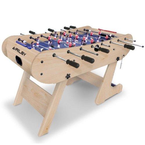 Riley FFT13-4LN Tischkicker klappbar 61x160x45cm Tischfussball