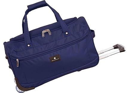 Bolsa de Viaje con Ruedas, 72 cm, Color Azul: Amazon.es ...