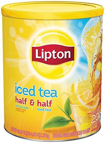 Lipton Iced Tea Mix - Half & Half Sweetened - 48.7 oz ()