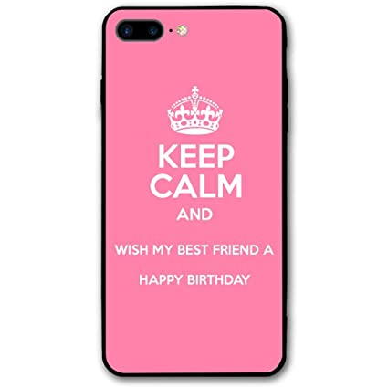 Amazon Com Happy Birthday Wishes For Best Friend Iphone 8 Plus Case