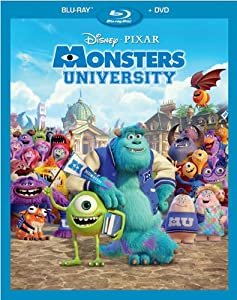 Cover Image for 'Monsters University (Blu-ray Combo Pack)'