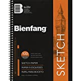Bienfang 8 1/2 by 11-Inch Sketchbook, 100 Sheets