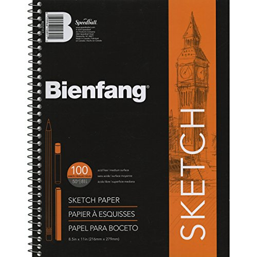 Bienfang Sketch Pad, 8-1/2 by 11-Inch - R237117