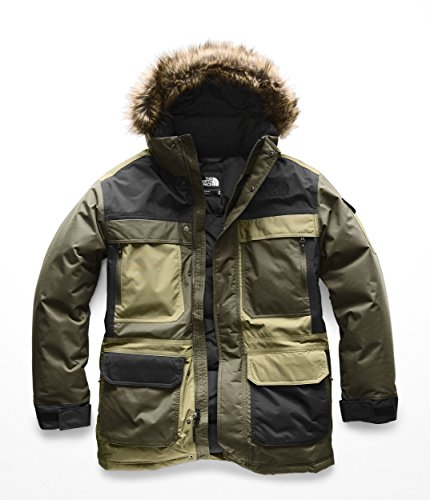 The North Face Men's McMurdo Parka III New Taupe Green Combo Large ()
