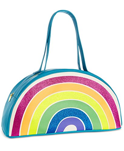 Betsy Johnson Rainbow Beach Insulated Large Picnic Cooler 17.5Lx9H