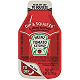 Heinz Tomato Ketchup, 0.95-Ounce Dippers, Single Serve Dip & Squeeze (Pack of 48)