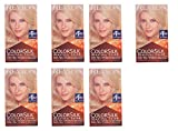 Revlon Colorsilk Beautiful Color, Medium Golden Chestnut Brown 46 1 ea (Pack of 7) + FREE Travel Toothbrush, Color May Vary