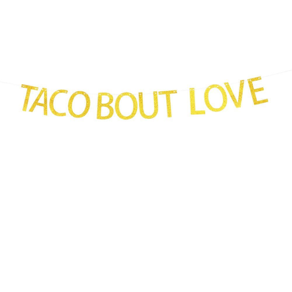 Taco Bout Love banner Birthday Party, Fiesta Theme Party Banner santonila banner