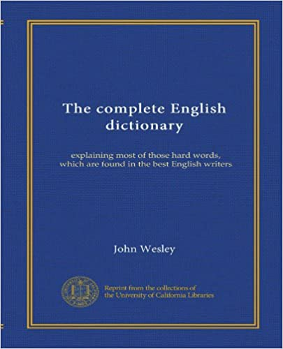 Dictionary complete pdf english