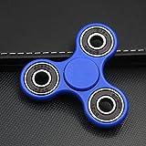 Fidget Spinner, Bekhic Pro Spintech Tri Fidget Hand Spinner Toy With Premium Hybrid Ceramic Bearing (Blue)