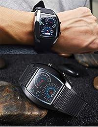 LightInTheBox Cheap Top Discount Men's Rubber Digital LED Wrist Watch Fashion Watches for Men (Black)