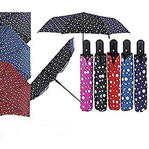 chaussures de sport ce74a b3280 Petit Parapluie à Pois Plusieurs Couleurs Coupe-Vent: Amazon ...