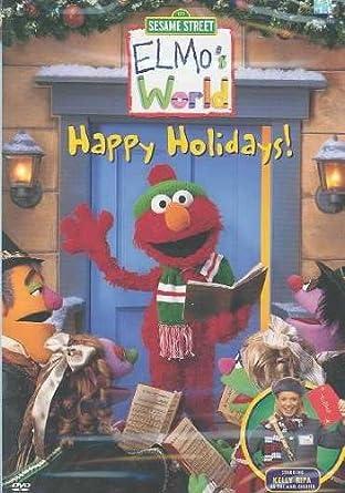 Amazon Com Elmo S World Happy Holidays Movies Tv