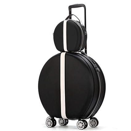 44d36d5eee52 Amazon.com : GJF Women's Hard Luggage, Personalized Lightweight ABS+ ...