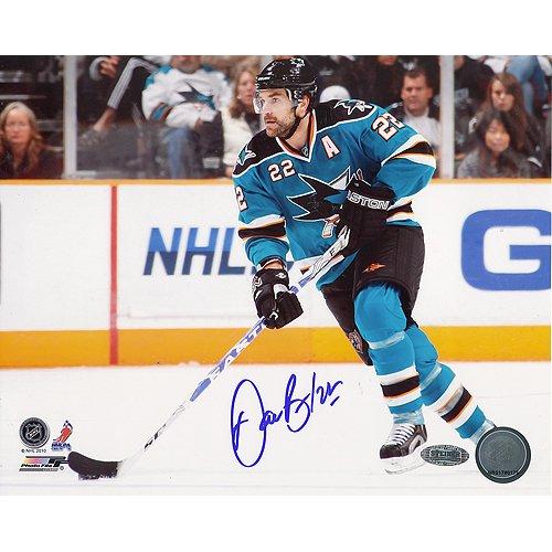 (NHL Tampa Bay Lightning Dan Boyle San Jose Sharks Horizontal Photograph, 8x10-Inch)