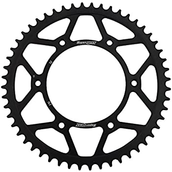 Amazon Com Supersprox Rfe 210 48 Blk Rear Steel Sprocket Black For