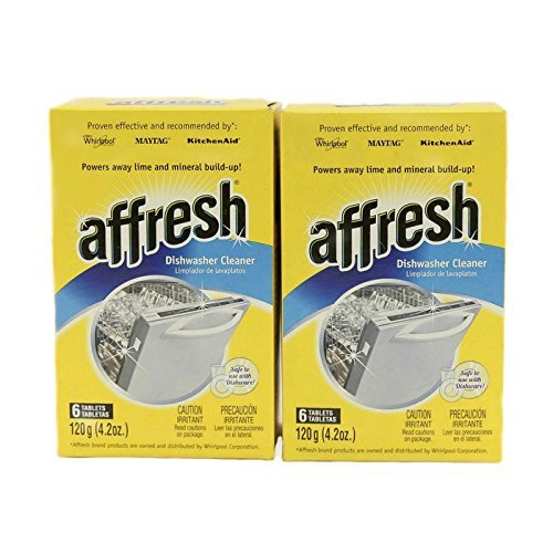 WHIRLPOOL AFFRESH DISHWASHER CLEANER TABLETS