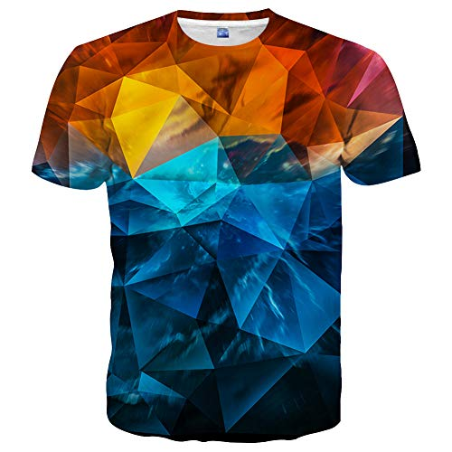 Graphic Unisex Fashion 3D Printed Short Sleeve Tee