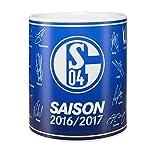 """FC Schalke 04 Unterschriften Tasse """"Team"""""""