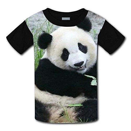 Yangjio Tee Shirt Panda Baby Costume L Short Sleeve For Children ()