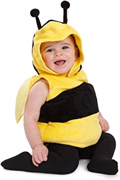 Dress Up America Kids Little Bee traje o disfraz de abeja: Amazon ...