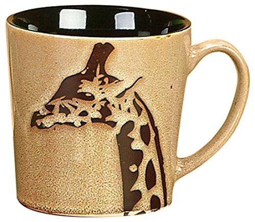 Giraffe Mug (Unison Gifts Large Ceramic Safari Giraffe Mug, 16 oz)